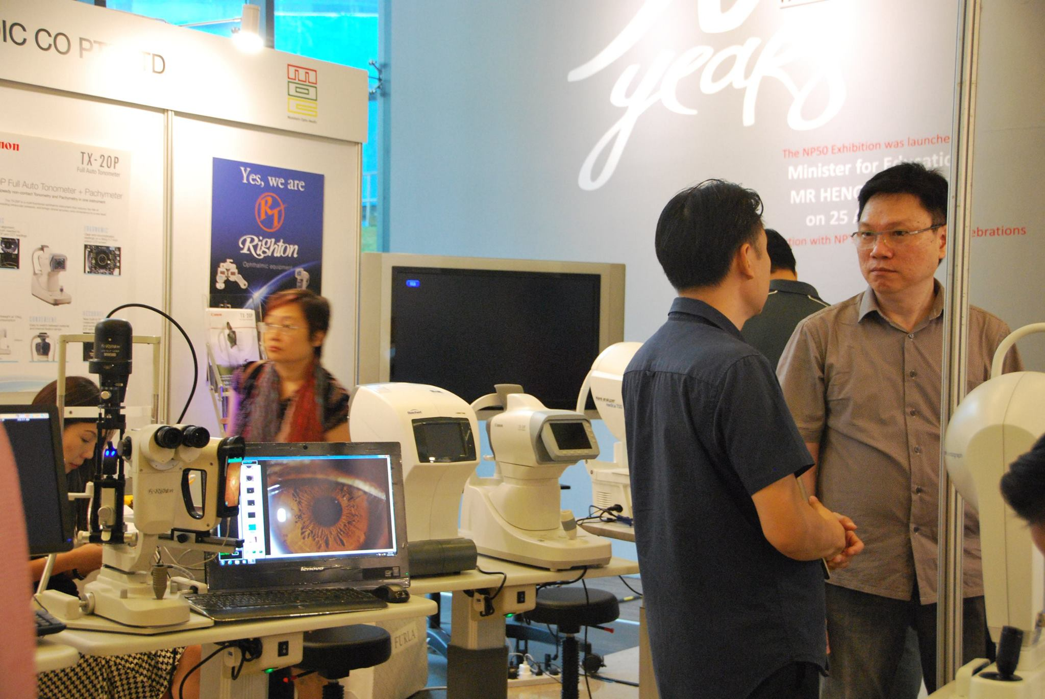 Ophthalmic Singapore in SOA