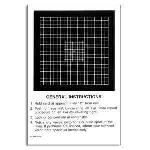 Amsler Grid Refined Central
