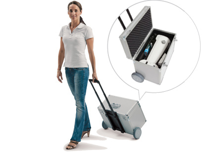 Binoptometer® 4P transport trolley