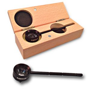 Gonioscopy Lens with Removable Handle & 4 Mirrors