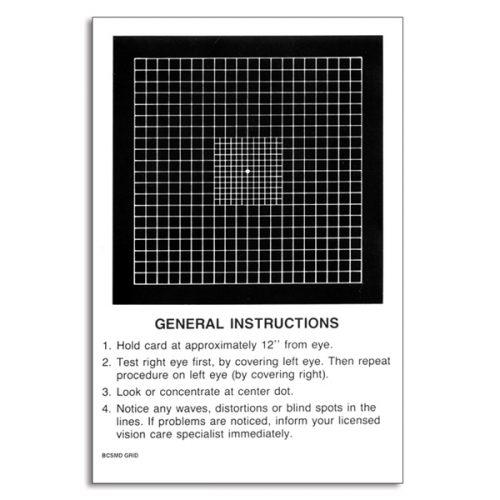 Amsler Grid Refined Central