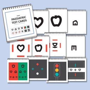 Hanks Pediatric Test Cards